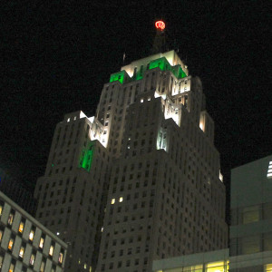 The Penobscot Building, where S3 is headquartered lights up for our 23rd anniversary.