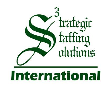 Strategic Staffing Solutions S3 International Lithuania Logo