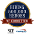 We are committed to hiring 500000 heroes