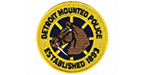 Detroit Mounted Police logo